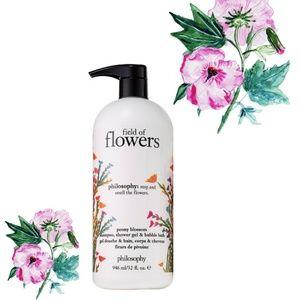 New Philosophy Field of Flowers shower gel wash